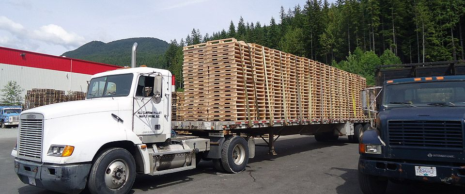 Heat-Treated Pallets in Maple Ridge|Products|All Custom Pallet